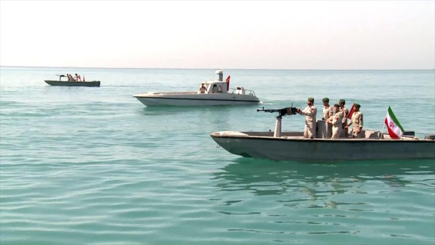 Irán promete atacar buques de EEUU que amenacen su seguridad