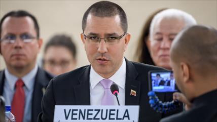 Arreaza: EEUU, epicentro de pandemia, debe ocuparse de su pueblo