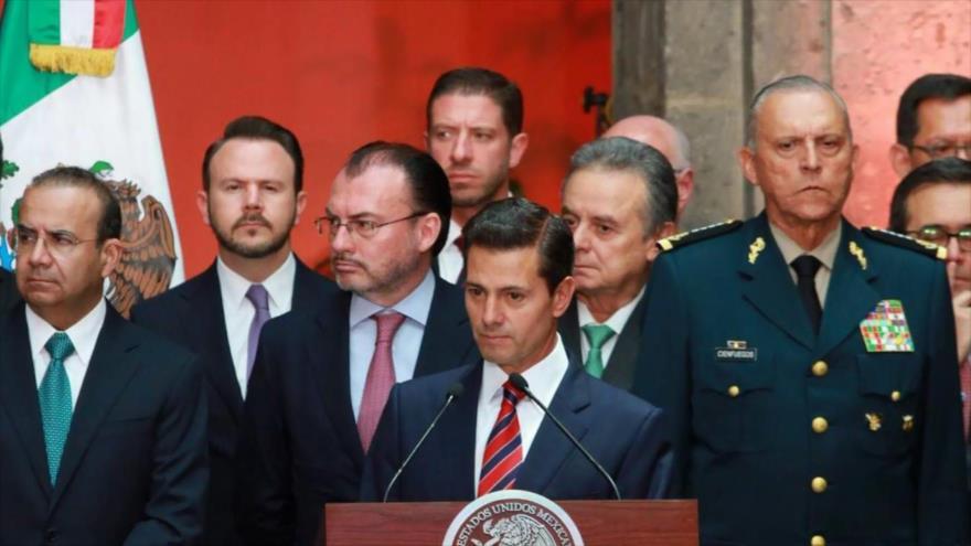 Expresidente mexicano Peña Nieto, en la mira de AMLO