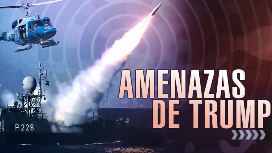 Detrás de la Razón: Fuerzas iraníes responden a la amenaza estadounidense en caso de ataque
