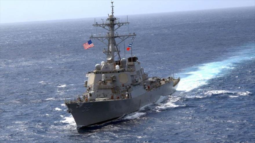 EEUU envía otro buque con misiles guiados al estrecho de Taiwán | HISPANTV