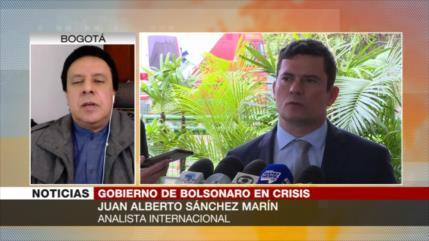 Sánchez Marín: Moro y Bolsonaro chocan por el poder