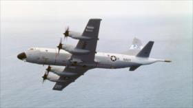 Avión antisubmarino de EEUU sobrevuela Taiwán en desafío a China