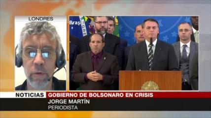 Martín: Grupos de poder en Brasil quieren deshacerse de Bolsonaro