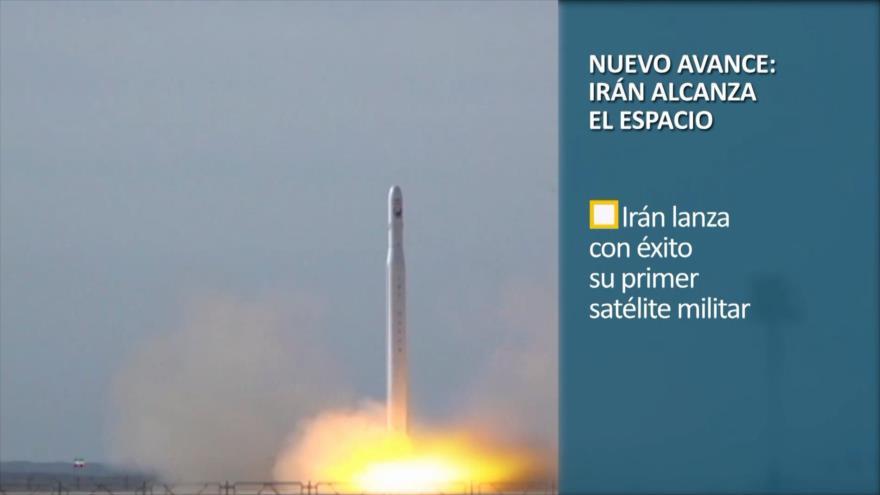 PoliMedios; Gran avance: Irán alcanza el espacio