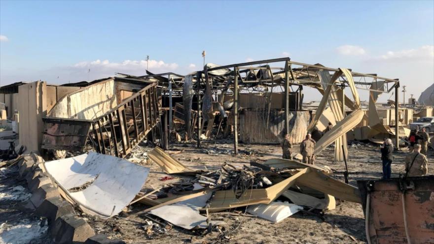 'EEUU traslada materiales de construcción a su base golpeada por Irán'