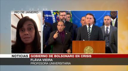 """Negacionismo de Bolsonaro sobre la COVID-19 causa grave crisis"""