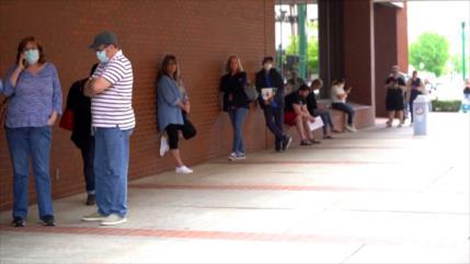 Tasa de desempleo en EEUU superaría 16 % en abril