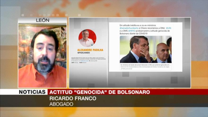 """Postura anticientífica de Bolsonaro ante COVID-19 daña a Brasil"""