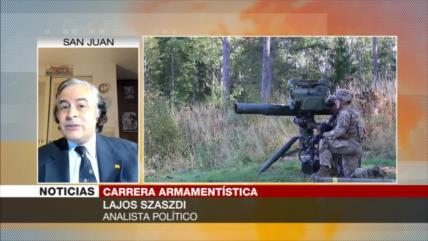 """""""Gasto militar se elevó por carrera armamentista del Occidente"""""""