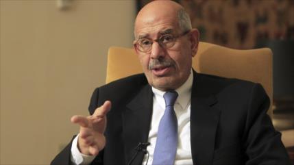 El-Baradei pide a árabes reconsiderar lazos con EEUU por Palestina