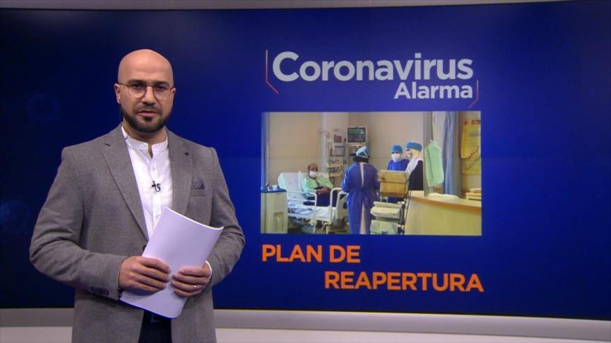 Coronavirus Alarma: Irán crea un mapa tipificado de zonas de riesgo para programar la reapertura económica