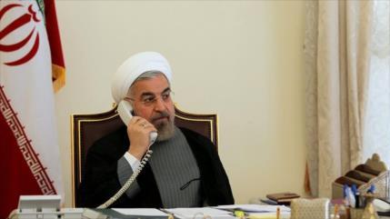 Presidente iraní: Injerencias de EEUU socavan seguridad de la zona