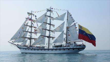 Venezuela frustra intento de EEUU contra la nave Simón Bolívar