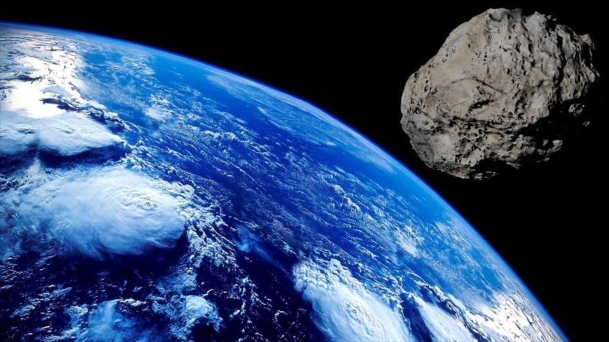"""La NASA afirma la aproximación de dos asteroides """"potencialmente peligrosos"""" a la Tierra."""