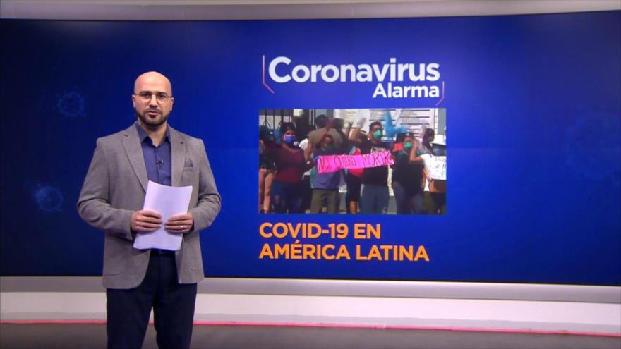 Coronavirus Alarma: Los médicos protestan contra malas condiciones de trabajos en Brasil, Perú y México