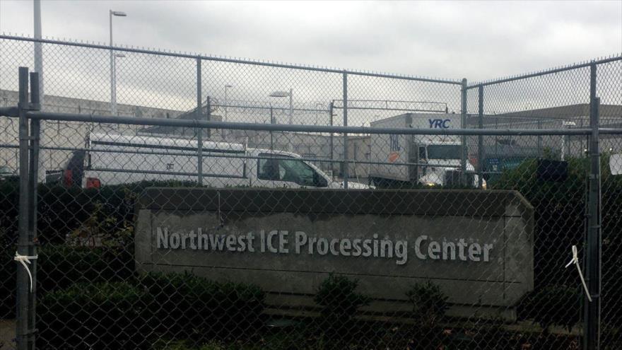 Vista exterior del Centro de Procesamiento del Noroeste, ubicado en Tacoma, en el estado de Washington, EE.UU.