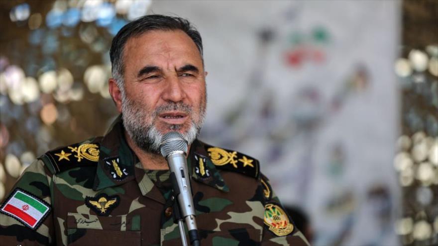 El comandante de la Fuerza Terrestre del Ejército de Irán, el general de brigada Kiumars Heidari.