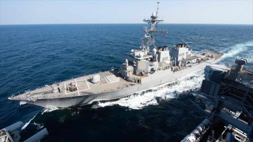 China lanza advertencia a buque militar de EEUU en aguas en disputa | HISPANTV
