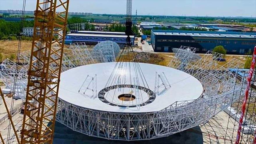 China construye un gran radiotelescopio para contactar con Marte