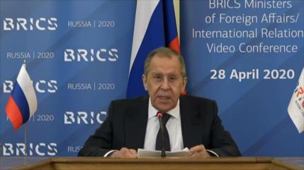 BRICS pide levantar las sanciones de EEUU para enfrentar COVID-19