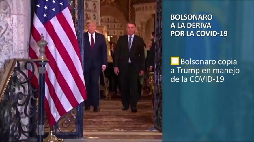 PoliMedios: Bolsonaro a la deriva por COVID-19