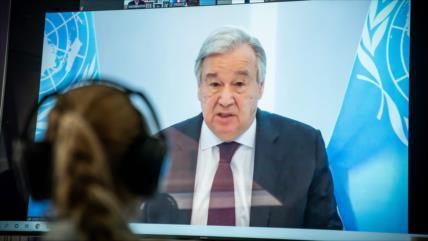 ONU exhorta a colaboración mundial para reconstruir un mejor mundo