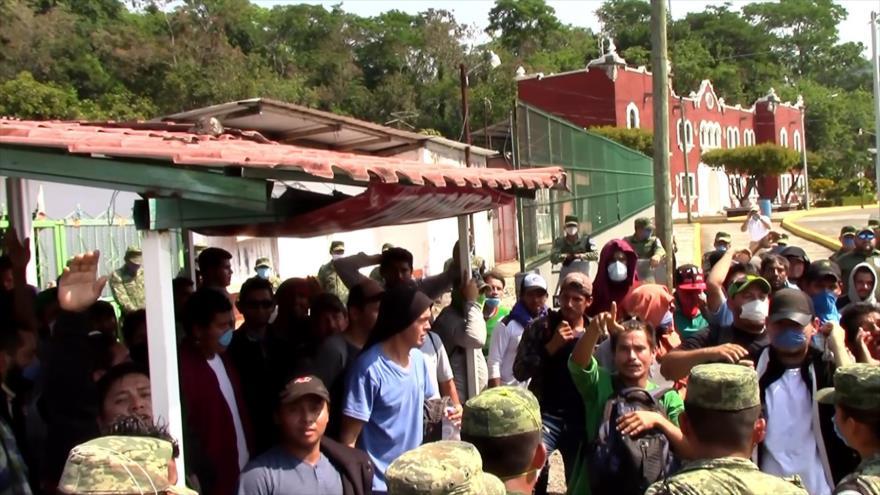 Piden atención a migrantes en la frontera sur de México ante COVID-19