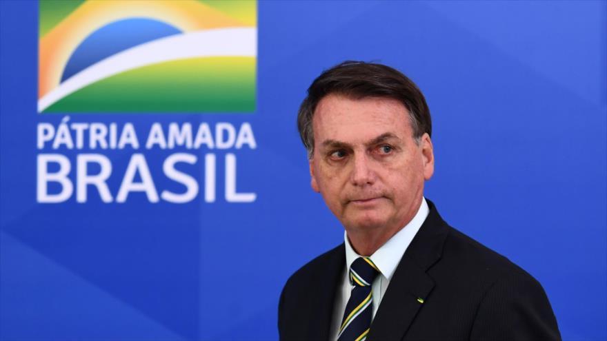 ¿Y qué?, responde Bolsonaro sobre cifra de muertos por COVID-19   HISPANTV