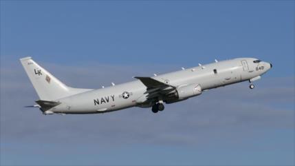 Avión espía de EEUU regresa a zona de escalada con Rusia en Siria