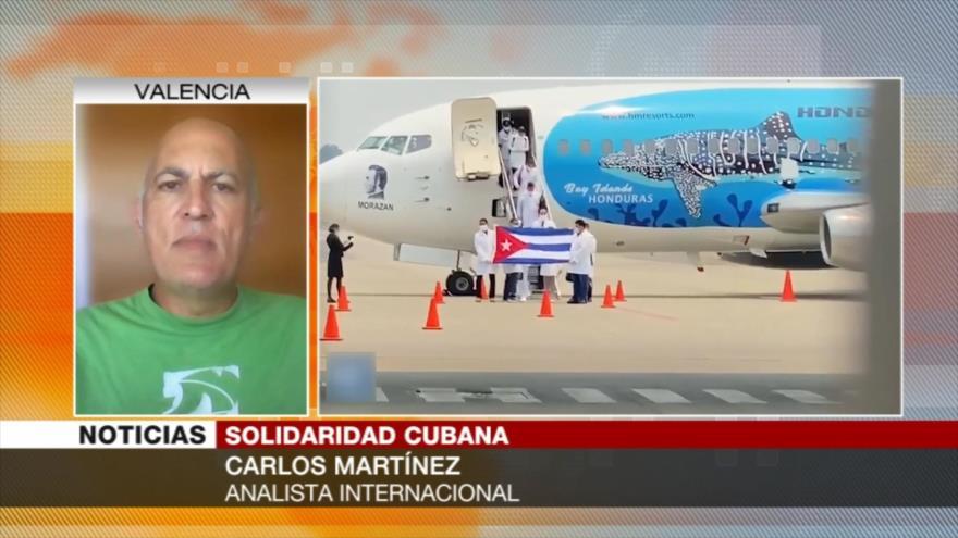 Martínez: EEUU sanciona a los gobiernos que no acatan su mandato