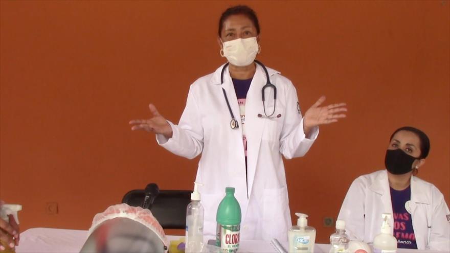 Agreden en sur de México a personal de salud durante la pandemia