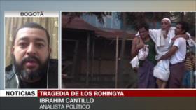 Cantillo: Occidente calla ante genocidio de Rohingya en Myanmar