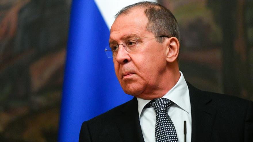 El ministro ruso de Asuntos Exteriores, Serguéi Lavrov.
