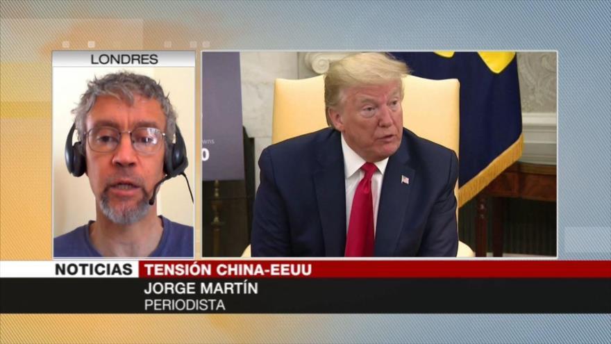 Martín: Trump culpa impactos en la economía a enemigos externos | HISPANTV