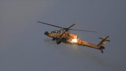 Helicópteros israelíes disparan misiles contra posiciones sirias