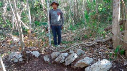 Fotos: Descubren una aldea maya posclásica en México