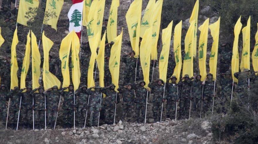 Combatientes del Movimiento de Resistencia Islámica de El Líbano (Hezbolá). (Foto: Reuters)