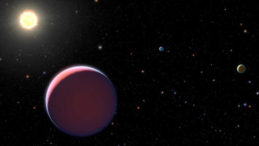 Descubren un exoplaneta que triplica el tamaño de Júpiter