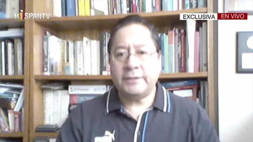 Luis Arce concede una entrevista exclusiva a HispanTV