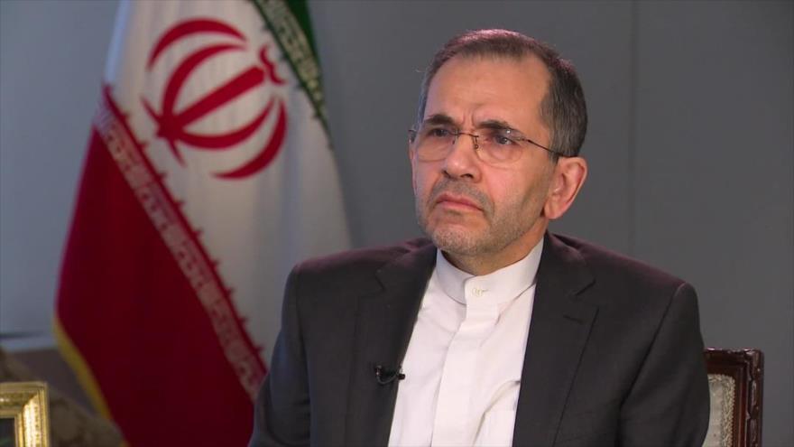 El representante permanente de Irán ante la Organización de las Naciones Unidas (ONU), Mayid Tajt Ravanchi.