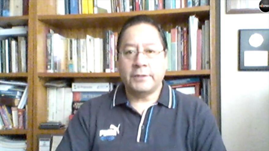 Arce defiende derecho de bolivianos a elegir un gobierno legítimo