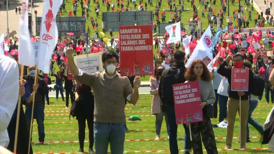 """Celebran """"Día Internacional de los Trabajadores"""" en plena pandemia"""
