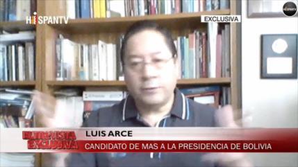 Arce denuncia: Hoy se vive una especie de dictadura en Bolivia