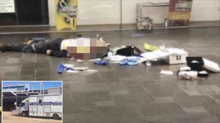 Policía abate a un hombre tras apuñalar a la gente en Australia