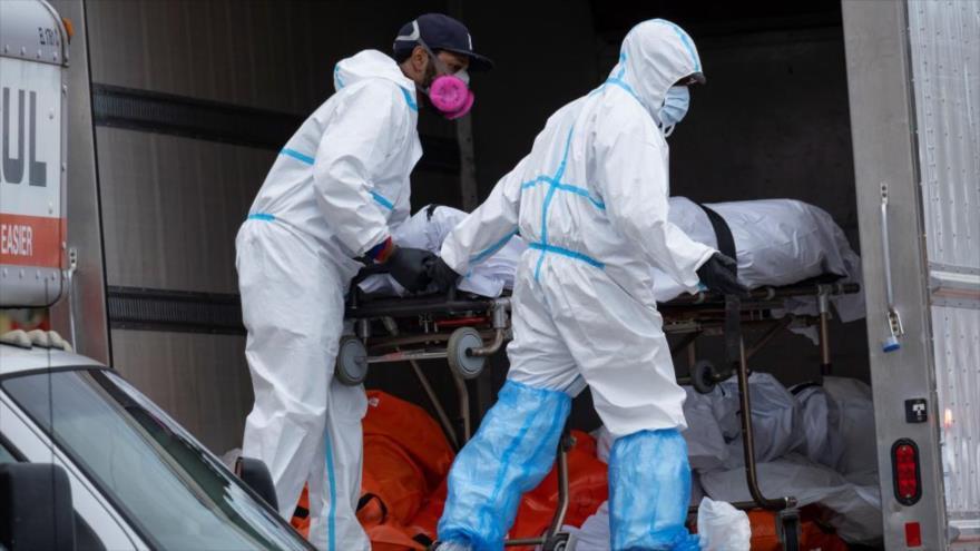 Geriátrico en Nueva York guarda cadáveres en camión frigorífico   HISPANTV