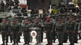 FANB expresa su lealtad al Gobierno de Maduro