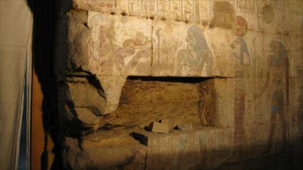 """Obras de arte """"invisibles"""" en un templo egipcio de Orisis"""