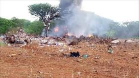 Avión con ayuda humanitaria se estrella en Somalia y deja 6 muertos