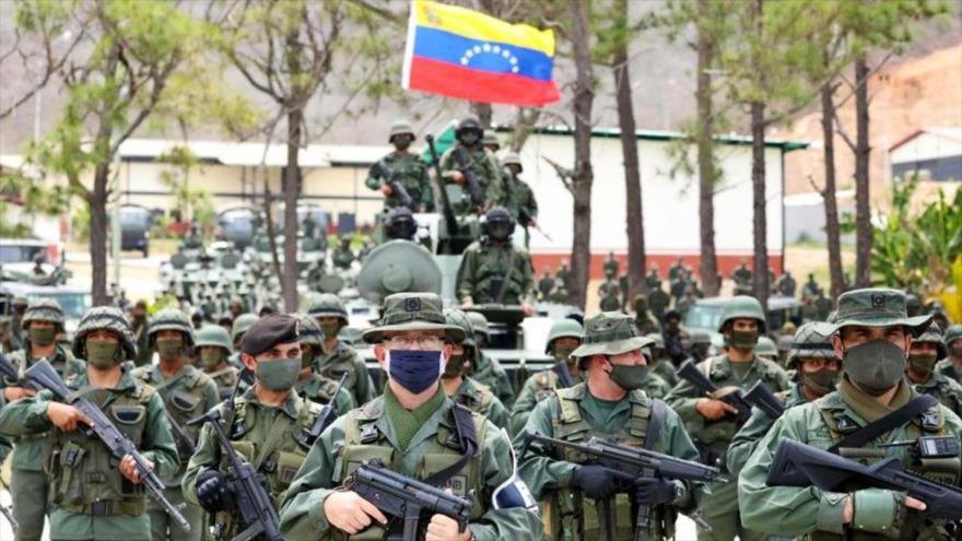 Venezuela inicia gran ejercicio en busca de mercenarios terroristas
